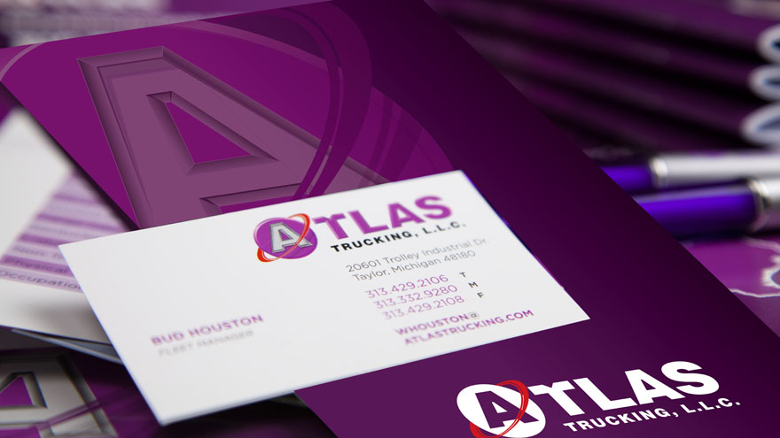 Atlas Trucking Corporate Identity