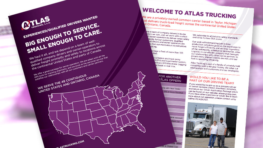 Atlas Trucking Corporate Overview