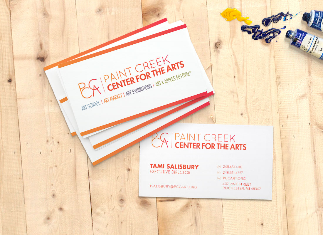PCCA Business Cards