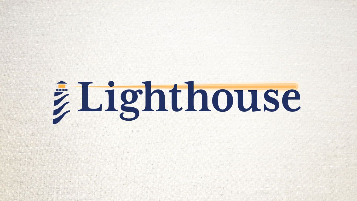 The new Lighthouse logo