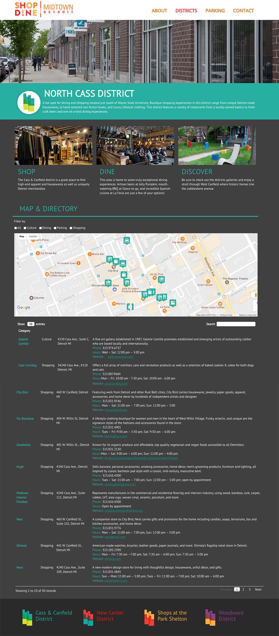 Shop DIne Midtown - Homepage
