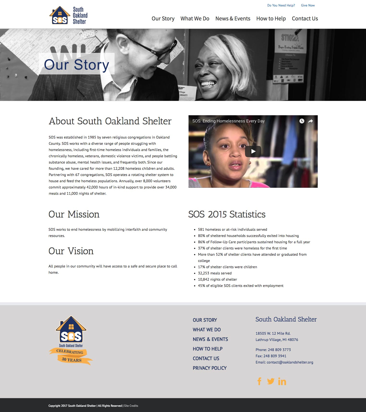 Oakland as website