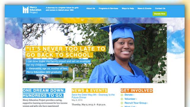 Mercy Educational Website Programming